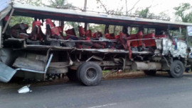 Bagerhat road accident