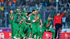 Wining Moment of Team Tigers