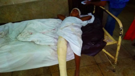 Injured boy lying unattended at DMCH