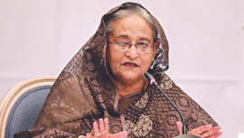 Daily Star file photo of Prime Minister Sheikh Hasina