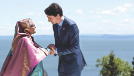 Hasina, Trudeau for joint action
