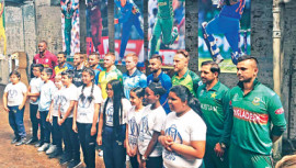 Captains of the participating teams of the upcoming ICC Cricket World Cup 2019