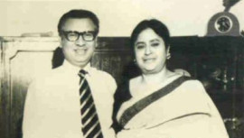 Tajuddin Ahmed and Zohra Tajuddin