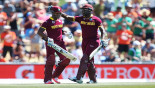 Lendl Simmons and Andre Russell carted the Pakistani bowlers